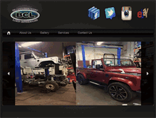 Tablet Preview of blackcountrylandroversltd.co.uk